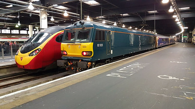 92023 with the 1m11 ex Glasgow.