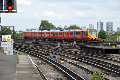 New 707004 at Clapham Junction