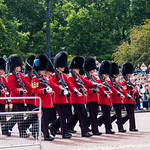 Buckingham Palace - changing of the guard