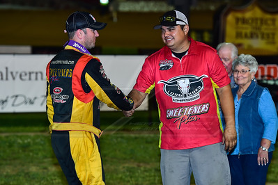 Tim McCreadie and crew chief Phillip Snellen