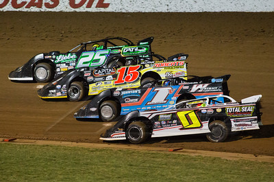 Jake O'Neil (0), Will Vaught (1V), Steve Francis (15) and Chad Simpson (25)