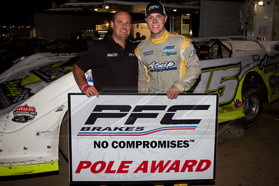 PFC Brakes Pole Award winner Payton Looney