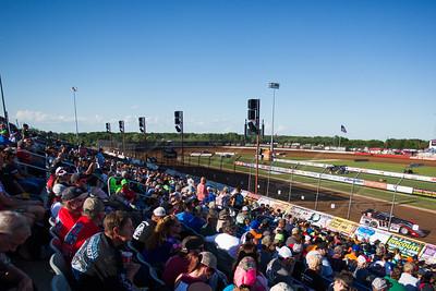 Lucas Oil Speedway fans