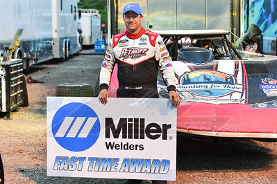 Miller Welders Fast Time Award winner Shannon Babb