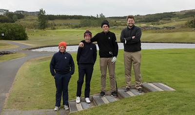 Böðvar Bragi Pálsson, Dagbjartur Sigurbrandsson, Snorri Páll Ólafsson og Haraldur Heimisson.