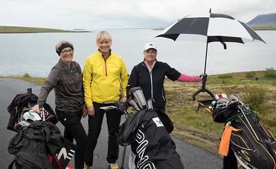 Unnur Sæmundsdóttir, Sigrún Ragna Ólafsdóttir og Elsa Björk Pétursdóttir.