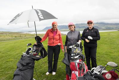 Leidy Karen Steinsdóttir, Steinunn Jónsdóttir og Þórunn Guðmundsdóttir.