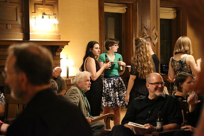 2017 Madison Early Music Festival, Post-Concert Party July 15th, post all festival concert party in the Harrison Parlor in Lathrop Hall. 9pm - Midnight