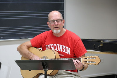 "The ""Making of Zarzuela"" class taught by Brandi Berry and Paul Rowe (pictured) at the 2017 Madison Early Music Festival in the Humanities Building at the University of Wisconsin-Madison Mead Witter School of Music."