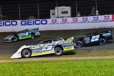 Garrett Alberson (F5), Josh Richards (1) and Gregg Satterlee (22)