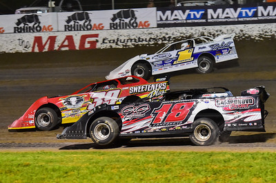 Ross Camponovo (18), Tim McCreadie (39) and Chad Thrash (1C)