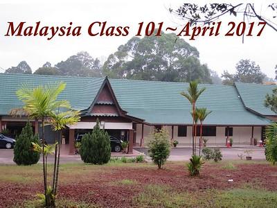 Malaysia Class 101 ~ April 2017