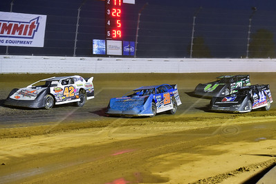 Bob Mayer (42), Dennis Erb, Jr. (28), Darrell Lanigan (14) and Jimmy Owens (20)