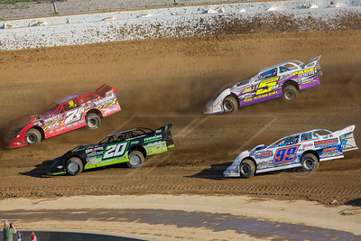 Jimmy Owens (20), Rod Conley (71R), Boom Briggs (99B) and Ryan Markham (5)