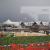 Construction progressing on the expanded Bicester Village outlet centre.