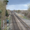 Looking north from Bicester North on the GWR's Oxford cut-off line.