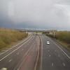 The M40 motorway near Bicester.