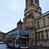 Stagecoach Enviro 400 MMC SK15HDE 10441 in Oxford passing Tom Tower at Christ Church College on the 1.