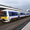 Chiltern Railways Class 165 Networker Turbo no. 165035 at Bicester North on a Banbury service.