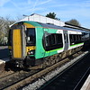 London Midland Class 172 Turbostar no. 172219 at Stourbridge Junction on a Stratford service.