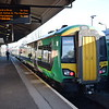 London Midland Class 172 Turbostar no. 172339 at Stourbridge Junction on a Stratford service.