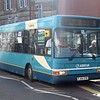 Arriva Dennis Dart Plaxton Pointer FJ54OTR 2370 in Stafford on the 8 to Parkside.