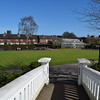 The bowls green in Victoria Park, Stafford.