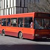 Select Bus Services Dennis Dart Plaxton Pointer X546GGO in Stafford on the 11.