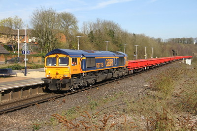 66778 Micheldever 26/03/17 6G15 Hook to Eastleigh