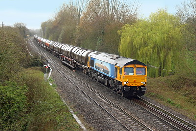 66709 Burghfield 20/03/17 6E45 Theale Puma GBRf to Immingham Puma GBRf