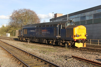 37611 Basingstoke 22/03/17 0Z37 Cardiff Canton to Eastleigh (due to be repainted into Europheonix livery)