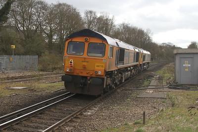 66775 Micheldever 19/03/17 0Y67 Hoo Junction to Eastleigh