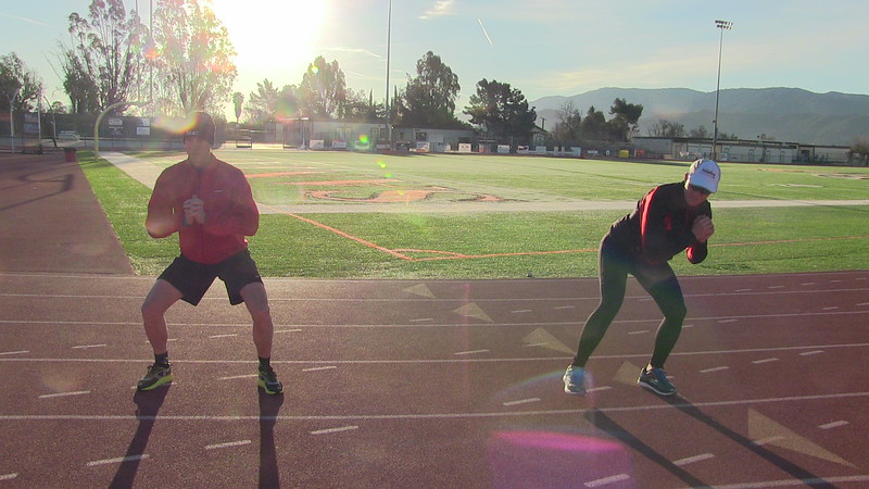 Coach Mike Ricci shared his great warm up activation exercises