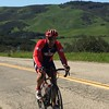 Mike Ricci climbing out from Jalama Beach