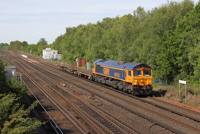 66755 Worting Junction 22/05/17 6M46 Eastleigh to Bicester