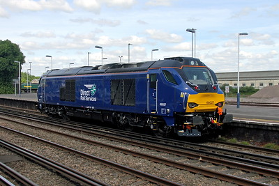 68027 Eastleigh 21/05/17 0Z41 Eastleigh to Crewe Gresty Bridge