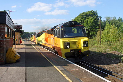 70817 Micheldever 25/05/17 6Y42 Hoo Junction to Eastleigh
