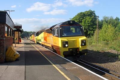 70817 Micheldever 25/05/17 6Y42 Hoo Junction to Eastleigh