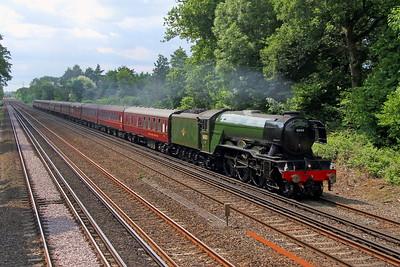 60103 Old Basing 31/05/17 1Z82 Salisbury to London Victoria