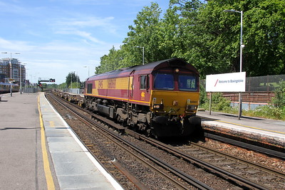 66068 Basingstoke 22/05/17 6Z41 Eastleigh to Dollands Moor