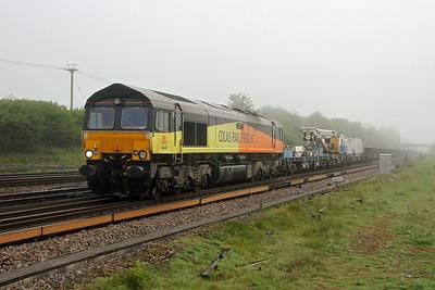 66849 Worting Junction 25/05/17 7Y44 Hoo Junction to Eastleigh