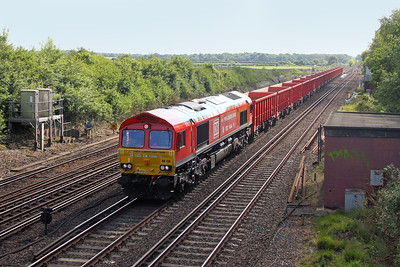 66136 Worting Junction 24/05/17 6Z86 Southampton Up Goods Yard to Wembley