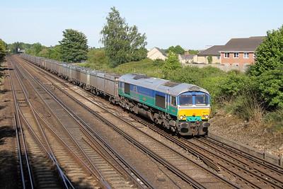 66711 Worting Junction 22/05/17 4Y19 Mountfield to Southampton Westen Docks