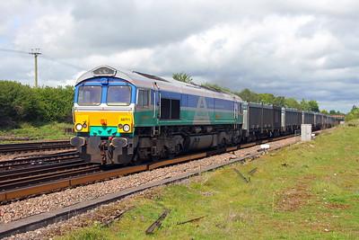 66711 Worting Junction 20/05/17 4Y19 Mountfield to Southampton Western Docks