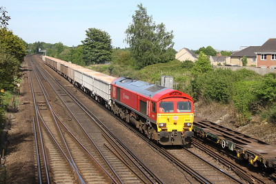 59205 Worting Junction 22/05/17 7V12 Woking to Merehead