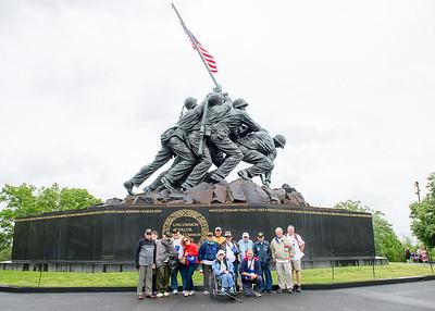 12. Iwo Jima Marine Memorial