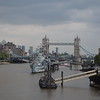 The view east from London Bridge, looking towards the HMS Belfast and Tower Bridge.