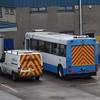 Ulsterbus Alexander bodied Leyland Tiger OXI1270 1270 recovery vehicle at Coleraine depot.