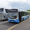 Ulsterbus Scania Wright Solar GXI420 2420 at Giant's Causeway on the 402 to Ballycastle.