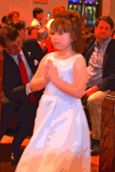 Lilla's First Communion 24